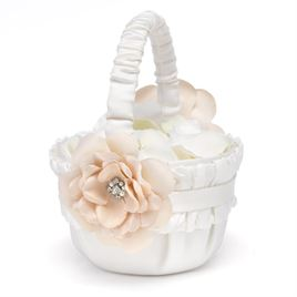 Wedding Flower Girl Baskets: Beautiful Blossom Flower Basket