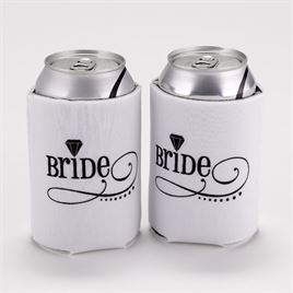 Wedding Can Koozies: 