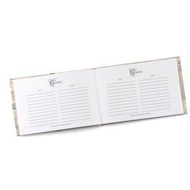 Metallic Sparkle Guest Book
