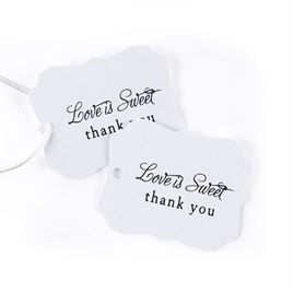Wedding Favor Tags and Labels: 