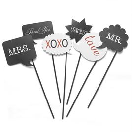 Word Bubble Photo Props Set