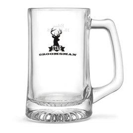 Stag Beer Mug - Groomsman