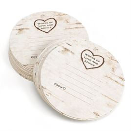 Birch Tree Advice Coasters