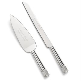 Cake Knife and Server Sets: 