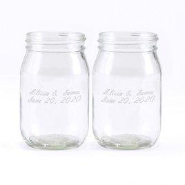 Rustic Vines Drinking Jars