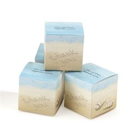 Beach Scene Favor Boxes