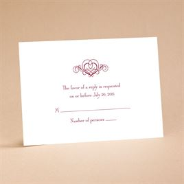 "It""s Up To You - Respond Card and Envelope"