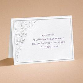 Romantic Butterflies - Reception Card