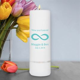 Unity Candles: Now and Forever Unity Candle