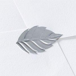Blank Silver Leaf Seal
