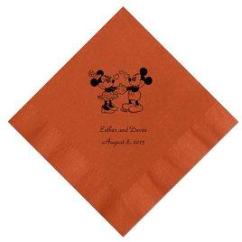 A Classic - Disney Spice Beverage Napkin in Foil