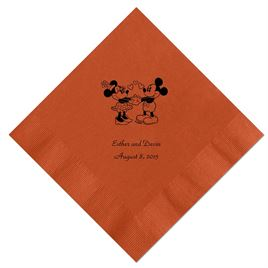 A Classic - Disney Spice Dinner Napkin in Foil
