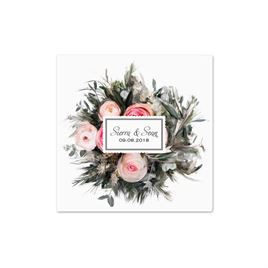 Pink Wedding Napkins: 