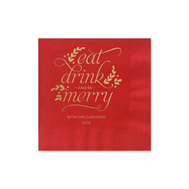 Ecru Cream Wedding Napkins: 
