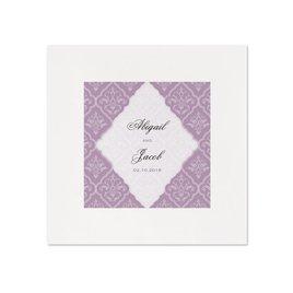 Classic Romance - White Dinner Napkin