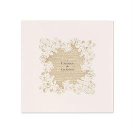 Lace Finish - Ecru - Dinner Napkin