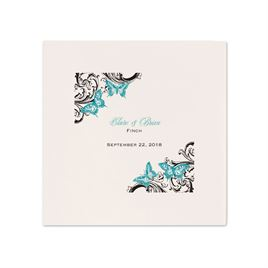 Love Takes Flight - Ecru Dinner Napkin