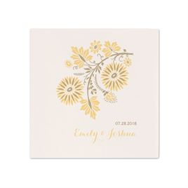 White Wedding Napkins: 
