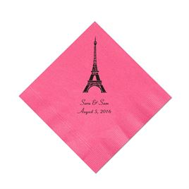 Fuchsia Cocktail Napkin