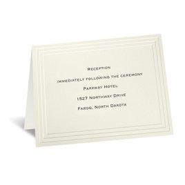 Timeless - Ecru Reception Card