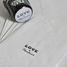 LOVE Custom Stamp