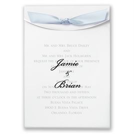 "Blue Satin Ribbon 5/8"" x 7"""