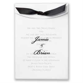 "Black Satin Ribbon 5/8"" x 7"""