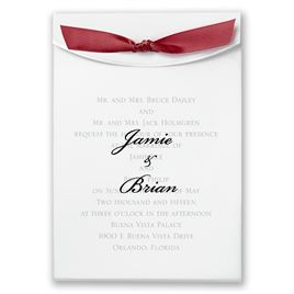 "Burgundy Satin Ribbon 5/8"" x 7"""