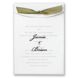 "Olive Satin Ribbon 5/8"" x 7"""