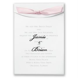 "Pink Satin Ribbon 5/8"" x 7"""