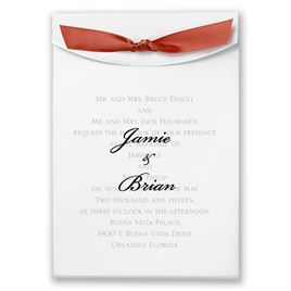 "Rust Satin Ribbon 5/8"" x 7"""