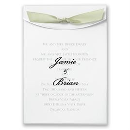 "Spring Moss Satin Ribbon 5/8"" x 7"""