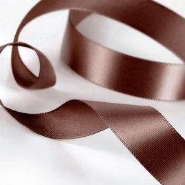 Satin Ribbon - Pre-Cut - Mocha