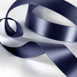 Satin Ribbon - Pre-Cut - Navy
