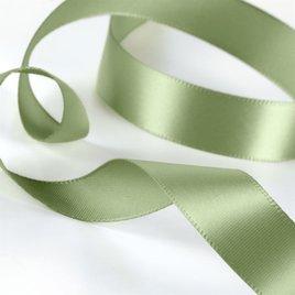 Satin Ribbon - Pre-Cut- Olive