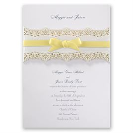 "Light Yellow Ribbon - 3/8"" x 19"