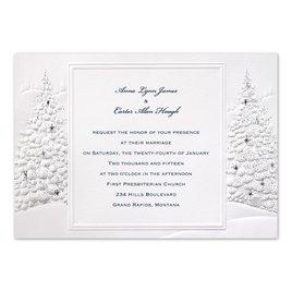 Winter Wedding Invitations: Wedding Wonderland Invitation