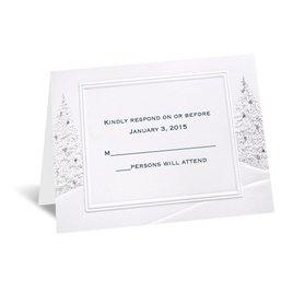Wedding Wonderland - Respond Card and Envelope