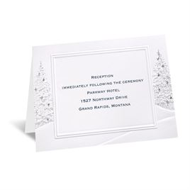 Wedding Wonderland - Reception Card