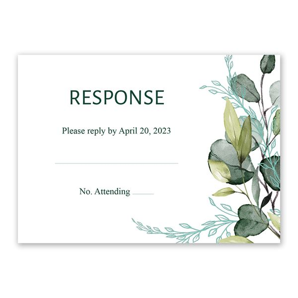 Breathless Response Card