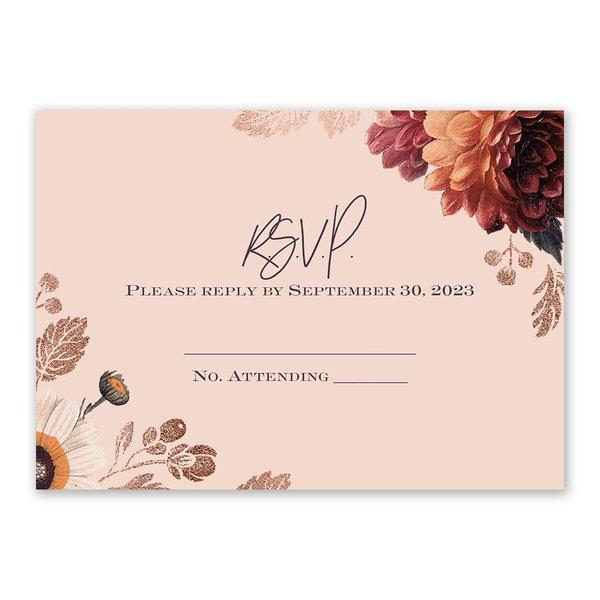 Abundant Blooms Response Card