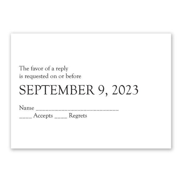 Devotion Response Card
