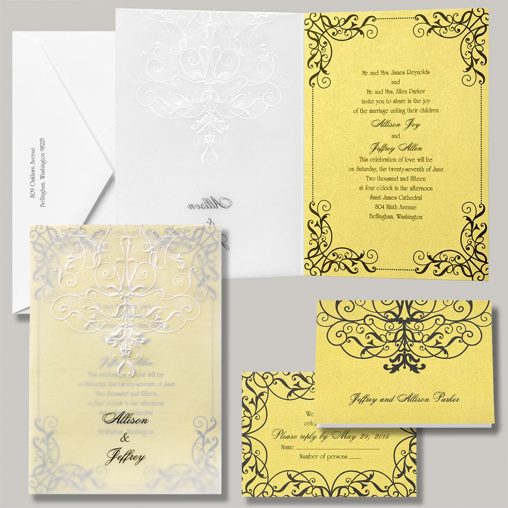 Disney Wedding Invitation: Disney Love's Transformation Invitation Belle