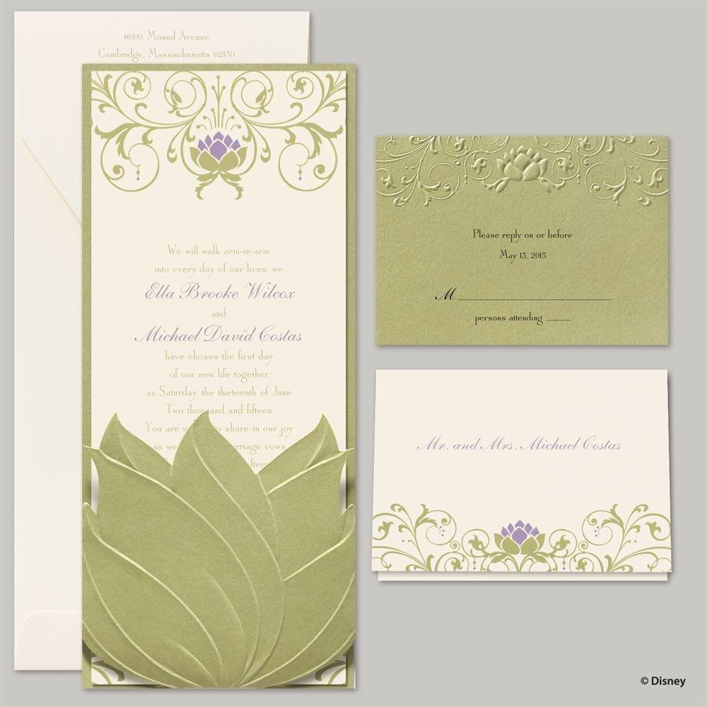 Disney Water Lily Invitation Tiana | Invitations By Dawn