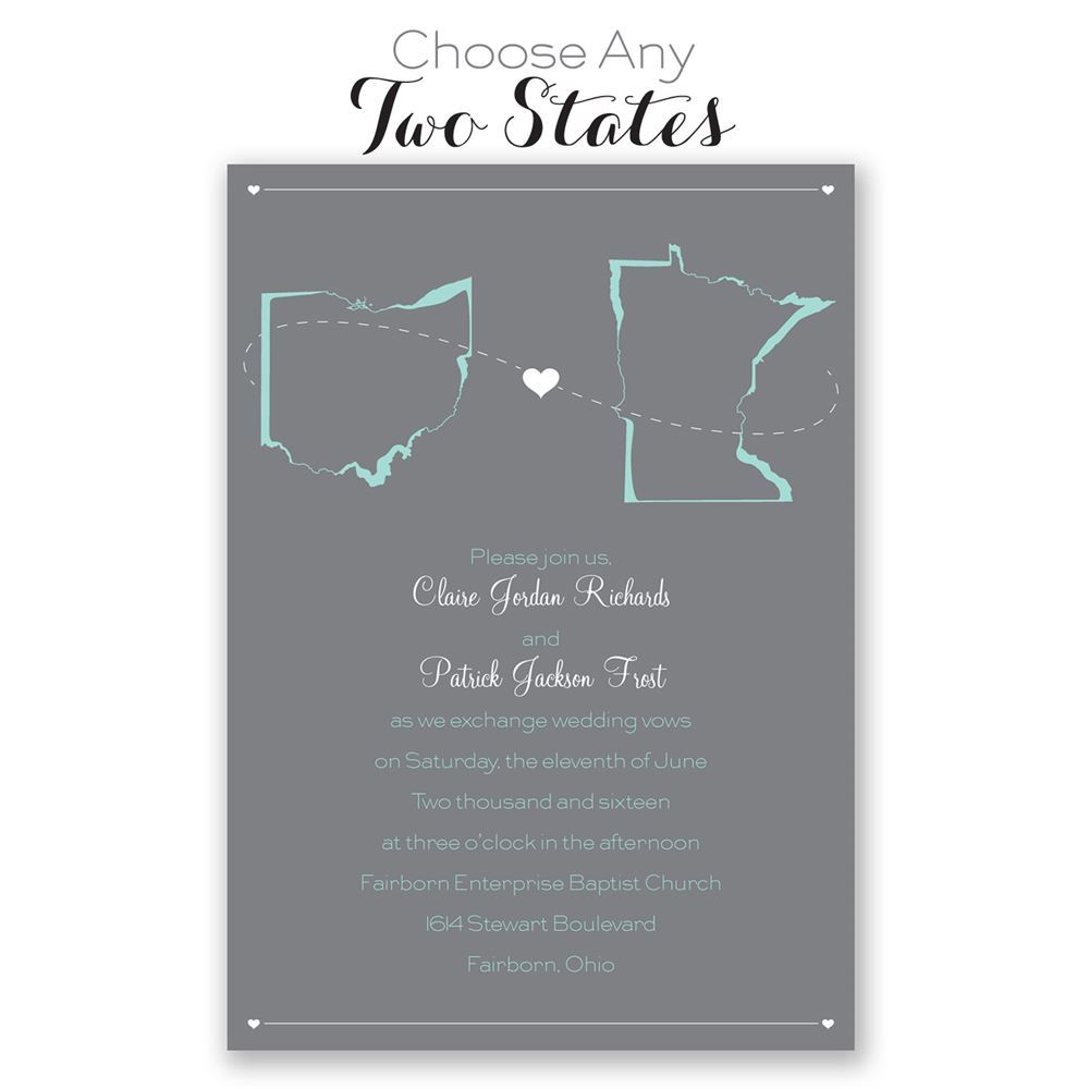 State Your Love   Invitation