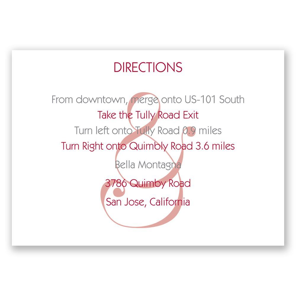 Happy Together Map Card Invitations By Dawn - Us 101 south map