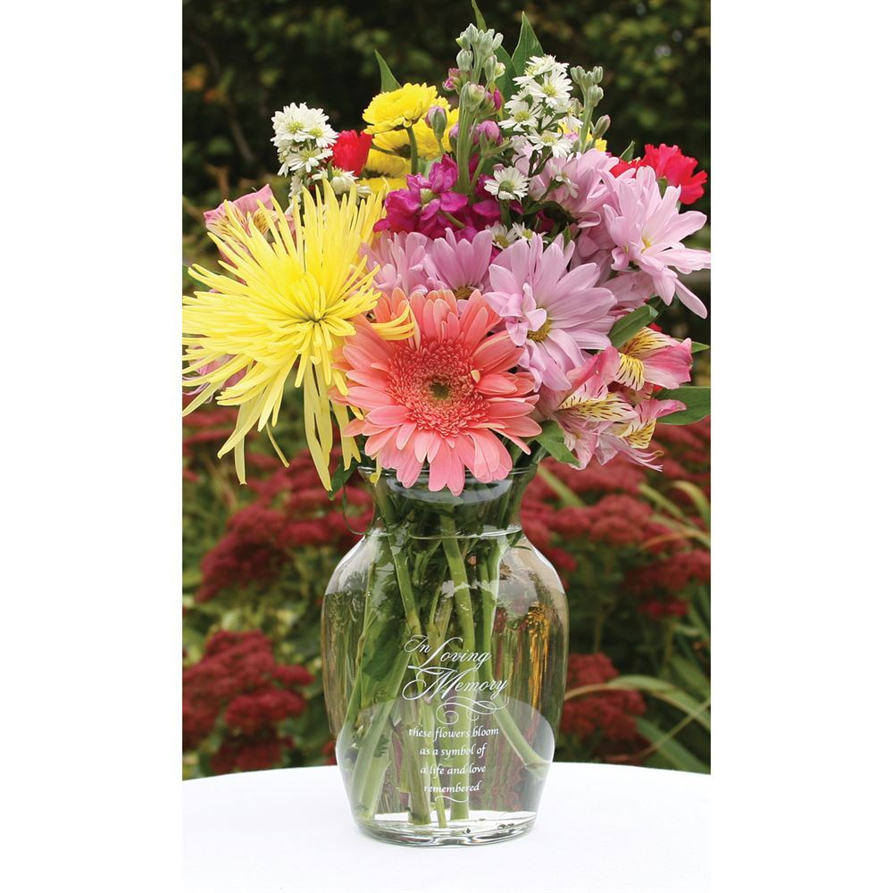 Memorial Vase Invitations By Dawn