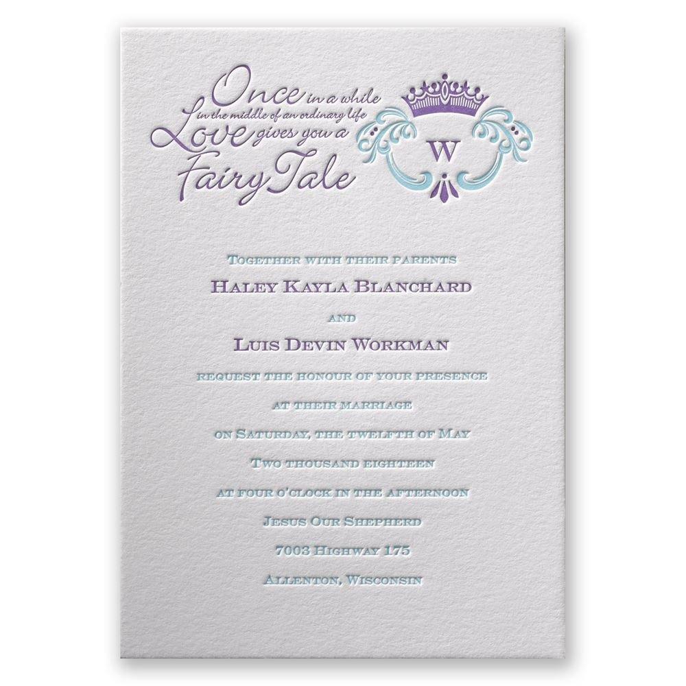 simply charming letterpress invitation invitations by dawn