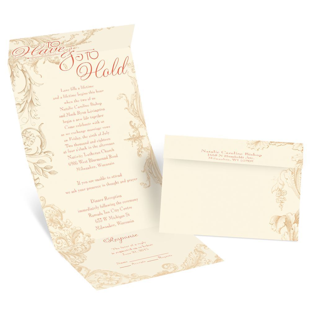 Yours To Hold Seal And Send Invitation Invitations By Dawn