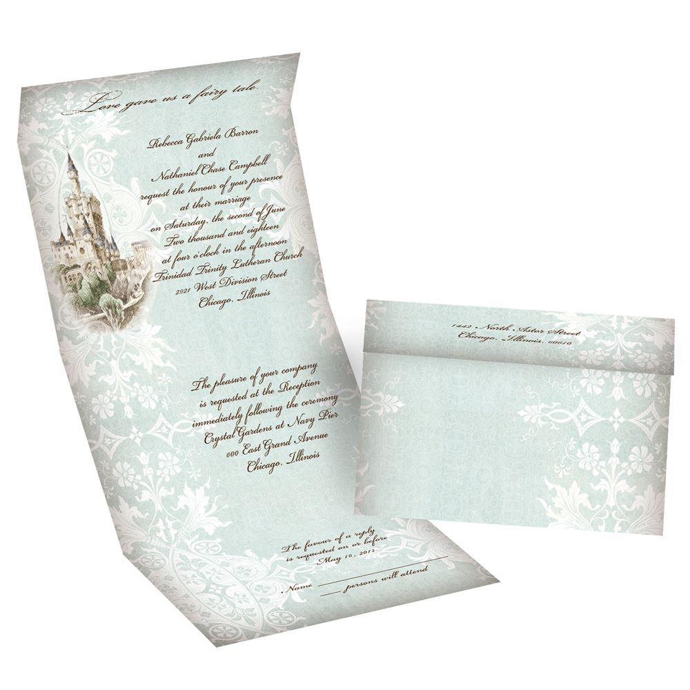 Seal And Send Wedding Invitations.Like A Dream Seal And Send Invitation